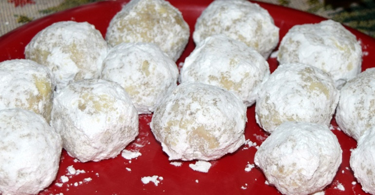 5-ingredient recipes snowball cookies