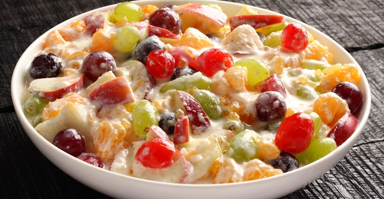grandma's best dessert recipes ambrosia salad