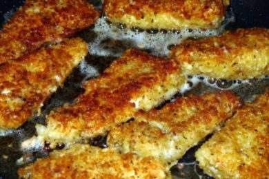 7 easy comfort food recipes parmesan crusted walleye