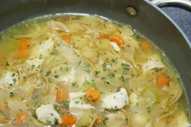 6 soups and stews chicken noodle soup
