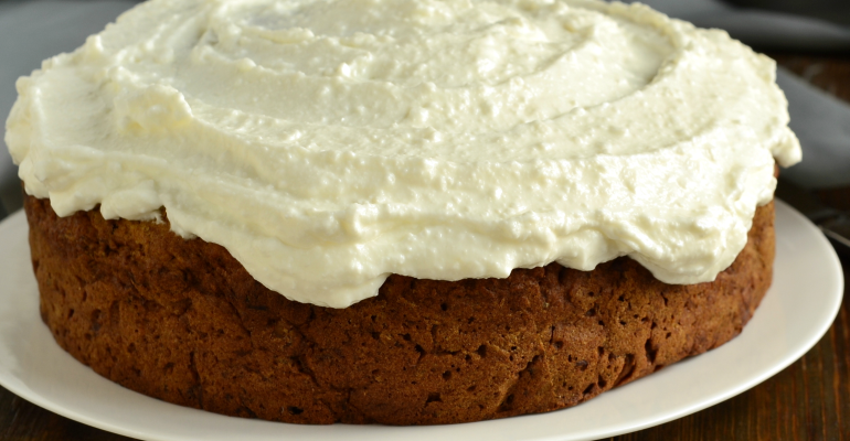 cream cheese banana cake
